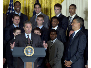 Barack Obama, John Calipari